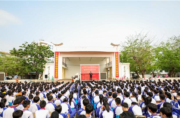 """陵水2019年""""未成年人道德讲坛""""开讲"""
